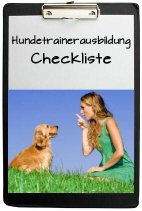 Hundetrainerausbildung-Checkliste