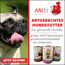 Anifit Hundefutter - hoher Fleischanteil, Fleisch in Lebensmittelqualität