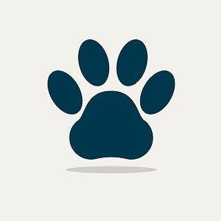 Hundenamen-Pfote