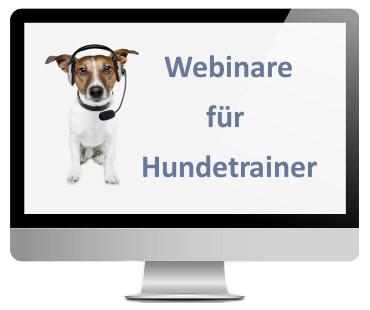 Webinare für Hundetrainer